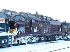 37516 1Z99 stabled in Buxton URS 27/03/2013 (37686) Tags: buxton urs stabled 37516 1z99 27032013