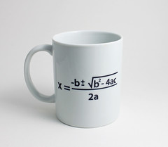 Quadratic Equation Math Mug (lltownley) Tags: blackandwhite art cup coffee ceramics geek coffeecup science math mug formula equation pottery etsy algebra quadraticequation quadratic coffemug quadraticformula lltownley