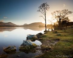 Loch Awe at sunrise [IMG_1411] (GammyKnee) Tags: morning sky lake reflection water sunrise scotland still scottish loch awe