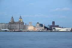 The 3 Graces (2) - Liverpool Pier Head (seentwistle) Tags: building liverpool evening waterfront liver cunard floodlit 3graces portofliverpool
