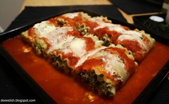 Lasagna Roll ups (deeeelish) Tags: cheese lasagna