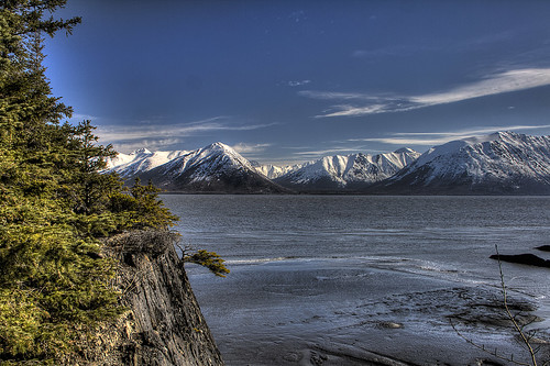 Turnagain Arm From Outside Hope