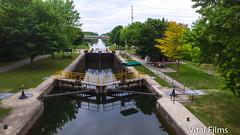 (Vital Films1) Tags: trentsevernlocks water locks boat boatlocks ontarioparks djiphantom3 drone cameradrone birdseyeview overhead airbourne phantom3