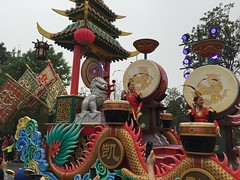 Mulan section (coconut wireless) Tags: china asia shanghai disneyland disney parade entertainment amusementpark pudong themepark sdp mushu 2016 sdl treasurecove shdl shanghaidisneyland asia2016 mickeysstoryookexpress shdlp