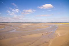 Le Mont-Saint-Michel 393.jpg (vossemer) Tags: frankreich meer natur himmel wolken normandie aussicht fr watt wetter ausblick landschaften atlantik lemontsaintmichel stimmungen ksten