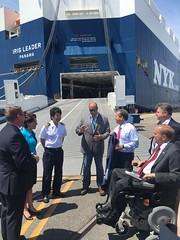 IMG_1057 (Rep. Jim Langevin (RI-02)) Tags: quonsetdevelopmentcorporation quonset portofdavisville port trade imports automobile neopanamax