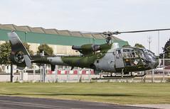 EGVP - Aerospatiale SA341B Gazelle AH1 - Army Air Corps - XW847 (lynothehammer1978) Tags: egvp aacmiddlewallop aac armyaircorps army britisharmy aerospatialesa341bgazelleah1 xw847