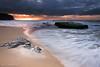 Turimetta Sunrise (renatonovi1) Tags: sunrise beach turimetta sydney nsw australia narrabeen storm clouds rock sand water wave swell sea ocean cloud sky nature coast seascape landscape motion