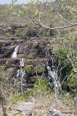 Chapada dos Veadeiros (Stella Pado) Tags: brasil gois alto paraso parque nacional da chapada dos veadeiros national park cachoeira waterfall almcegas 1 natureza nature paisagem landscape