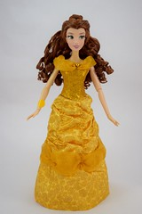 2016 Singing Belle 16 Inch Doll - US Disney Store Purchase - Belle Deboxed - Standing - Full Front View (drj1828) Tags: us disneystore belle beautyandthebeast singing 16inch 16 lightup interactive 2016 purchase deboxed standing