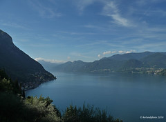 Hiking on the way up (Mwap38) Tags: hiking hikingtrail outdoors outside summer summer2016 como lake lago italy italia panasonic view hills mountains sea seascape seaside seaview vacation water waterscape sunny sky skyscape hight nature naturemasterclass