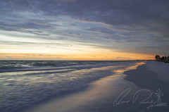 Quiet Your Mind (IRick Photography) Tags: siesta key beach fl florida beaches sand sands sandy white sunset sun set setting water wave waves ocean gulf mexico reflection reflections sunsetting cloud clouds cloudy paradise landscape