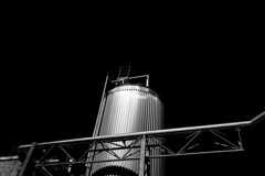 Container at the Croda mill (Imagesphere_nl) Tags: sky mill architecture industrial blackandwhite bw monochrome