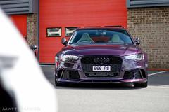 The Audi of the Beast (MJParker1804) Tags: audi rs6 avant c7 v8 twin turbo merlin purple 666 rs