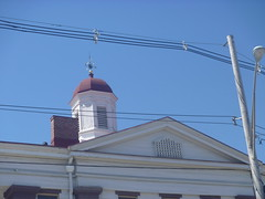 Top Right Side View, Sussex County Courthouse, April 17,2016 (rustyrust1996) Tags: sussexcounty newton newjersey courthouse cupola