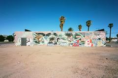 92990007 (alexdotbarber) Tags: 1125 arizona c41 kodakektar100 phoenix phoenixstreetart voigtlander15mmf45 voigtlanderbessar3a analog colornegative f16 mural rangefinder
