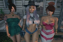 That Sunday in Lake George... (Katy Hastings) Tags: alice catwa collabor88 crossroads cynful deaddollz duraboy egozy facade gift lagyodesdemona lakegeorge logo mom mowie n21 pixicat rezology sabotage verocity