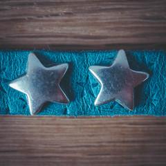 Macro Mondays - Stars (H-1) Tags: stars star macro monday mm silver blue