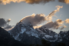 Head in The Clouds, Part 2 (JeffMoreau) Tags: grand teton national park tetons mountain peak obscured dusting fresh snow july moose wyoming