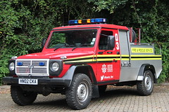Hampshire Fire And Rescue Steyr Puch (Ben Greenwood 999) Tags: hampshire fire and rescue steyr puch hn02cka