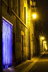 Richelieu door  10 (photoautomotive) Tags: france french europe street road light longexposure lights lightpainting door garage richelieu threemusketeers cardinalrichelieu old outside outdoor 16thcentury