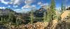 Ingalls Pass (cdx_cdx) Tags: mtstuart lakeingalls ingallspass panorama washingtonstate iphone6splus