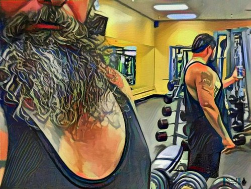 At The Gym Selfie.