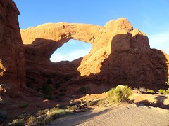 The Windows Section, Arches (travelourplanet.com) Tags: windowssection thewindowsarches northwindowarch southwindowarch turretarch archesnationalpark utah archesutah