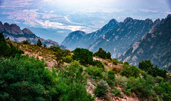 Montserrat Mountain in Catalonia, Spain (CamelKW) Tags: barcelona catalonia spain montserrat mountain