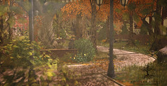 Fall Sky Platform Home (Glamrus) Tags: outdoor secondlife second life ror roots of royalty landscpae decor pretty photography fall colours client skye apple loft aria little branches dust bunny what next botanical brixley trompe loeil make it your own beautiful