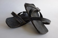 Sandals (neil cummings) Tags: fromthecollection thing diy tyres collection enthusiasm collecting rubber kenya made masi objectoftheweek