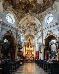 Piaristenkirche Maria Freu-Wien (Txulalai) Tags: wien viena vienna austria arquitectura iglesia church kirche catedral cathedral barroco sonyilce6000 sonya6000 sony sonyalpha6000 travel