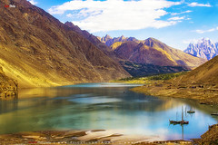 Sunset @ Atabad Lake (AQAS.Clicks) Tags: hunza gilgit kkh mountains clouds light landscape ancient history nature colors hill river mountainside grassland indus hoper gojal ladyfinger hunzapeak ultarpeak