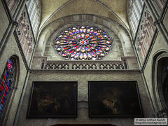 Sint-Maartenskathedraal (Roelofs fotografie) Tags: ieper sintmaartenskathedraal church d3200 nikon wilfred roelofs belgium building old arches 2016 heritage briks ww1 arch architecture faith