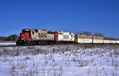 The Dirty Leads the Clean (ac1756) Tags: soo sooline emd gp40 734 911 troutlake michigan