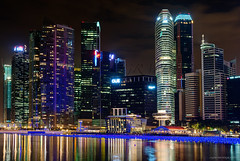MARINA BAY n4 (CGDP) Tags: light building colors night marina hotel bay nikon singapore couleurs ngc lumiere singapour fx fullerton nuit d800 batiments nikoniste nikonpassion pixeliste cgdp afs60mf28g