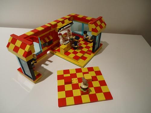 Chicken Burger MOC 13