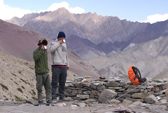Tea time (Ziemek T) Tags: hiking ladakh markhavalleytrek gandalabasecamp