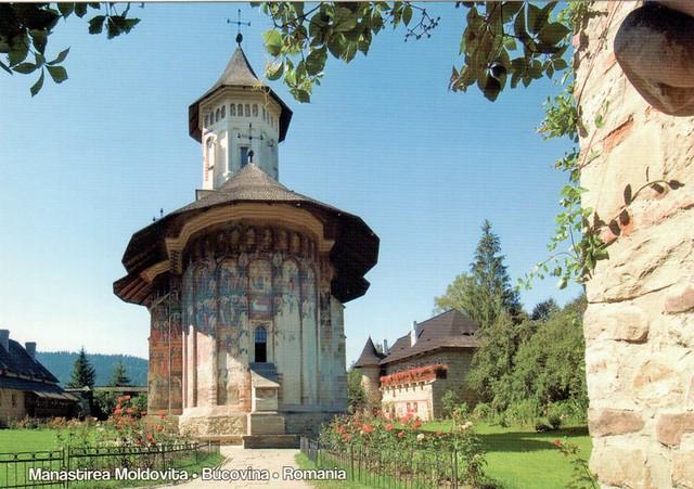 UNESCO WHS Romania Painted Churches of Moldavia: Moldovita 2