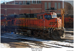 BNSF ES44AC 5750 (Robert W. Thomson) Tags: railroad train montana diesel railway trains havre locomotive trainengine ge bnsf burlingtonnorthernsantafe gevo es44ac es44 evolutionseries sixaxle