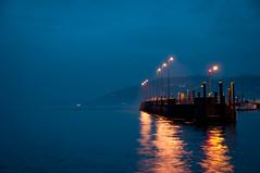 Reflections (bigmike.it) Tags: light lake ferry night reflections lago luci riflessi notte traghetto mygearandme