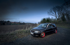 Volkswagen Polo 6N2 (Sam Spilsbury) Tags: vw night canon golf volkswagen long exposure scene retro 5d jetta polo dub lowered 1740 vento slammed mkii stance scirocco veedub f4l