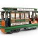157. Vintage Tin Trolley Car Toy