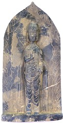 Sadigh Gallery's Ancient Asian Basalt Shrine of Kuan Yin (SadighGallery) Tags: shrine kuanyin blackbasalt sadighgallery ancientasian