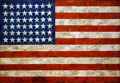 Jasper Johns, Flag (no frame)