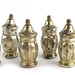 312. Set of Six Sterling Silver Salt Shakers