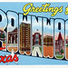Greetings from Brownwood, Texas - Large Letter Postcard