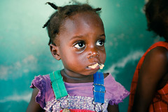 Mouthful (Alex E. Proimos) Tags: world food baby kids bar for foods haiti kid dr daughter health hunger doctor butter snack use program peanut ready hungry madam clinic patricia wolff meds mouthful haitian mfk malnutrition bwa nutrients rutf therapeautic straving