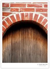 二水的三合院-門 (Ache_Hsieh) Tags: door old travel house taiwan olympus 彰化 zhanghua e500 zd 1454mm2835