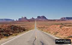 Mile 13 on the approach to Monument Valley (Martin Dixon) Tags: autumn usa fall landscape utah ut october highway sandstone rocks butte unitedstates desert unitedstatesofamerica american northamerica monumentvalley rockformations 2012 mexicanhat canonef24105mmf4lisusm canon60d milemarker13 us163scenic